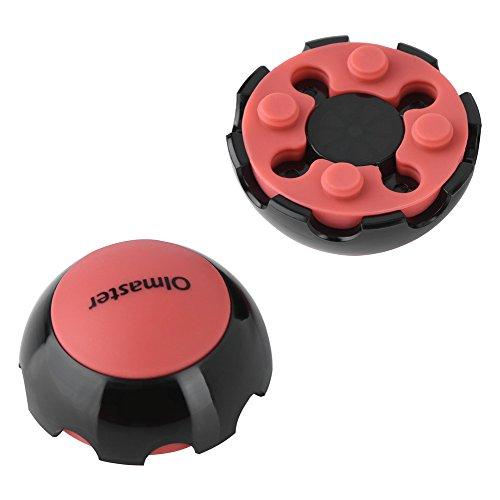 VBESTLIFE - Bola de refrigeración para portátil (antideslizante), color rojo