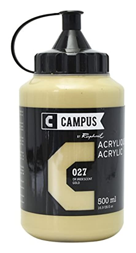 CAMPUS Iridescent Acrylic 500?ml Bottle Gold