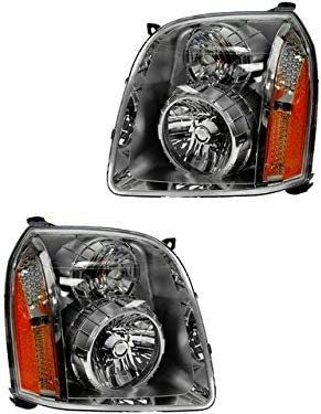 Headlight 70% OFF Outlet Award-winning store Assembly Set of 2- 2007-2014 Compatible with Yukon GMC