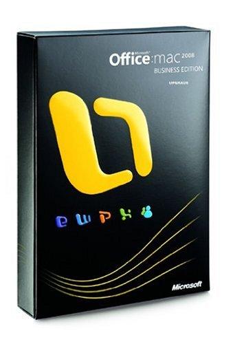 Microsoft Office 2008 Business Edition, Mac, DVD, UPG, DE
