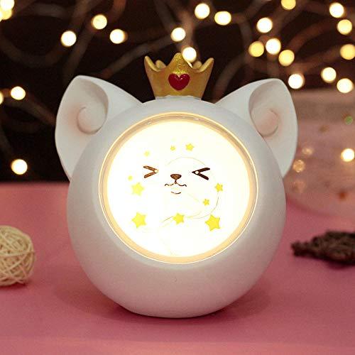 luci notturne da presa Luce notturna creativa della tazza Protezione degli occhi a risparmio energetico-Faccine bianche Lampada da comodino luci notturne soft