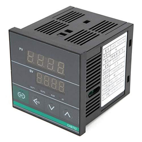 Salida SSR AC18 Termostato inteligente de pantalla digital BERM CHB702 para todo tipo de ocasiones donde se requiere control de medición de temperatura