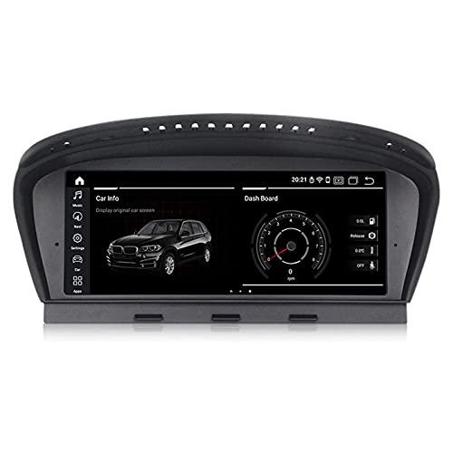 JIBO para B M W 3/5 Serie E90/E60 2005-2008 CCC Carro Cabeza Unidad 8,8' Android 10 GPS Navegador IPS Tocar Pantalla Trasero Vista Cámara Multimedia Jugador Video Receptor,CIC