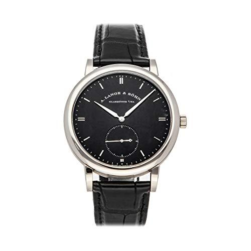 A. Lange & Sohne Grand Saxonia Automatik Black Dial Men's Watch 307.029