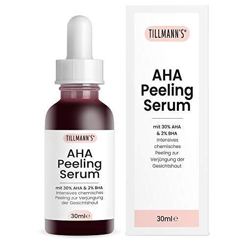 AHA Peeling Serum mit 30% AHA & 2% BHA | Intensives chemisches Peeling zur Verjüngung der Gesichtshaut