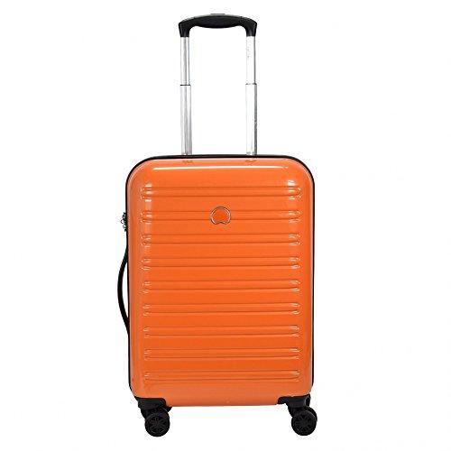 Delsey Segur Maleta Unisex Adulto Naranja 55 cm / 40 L