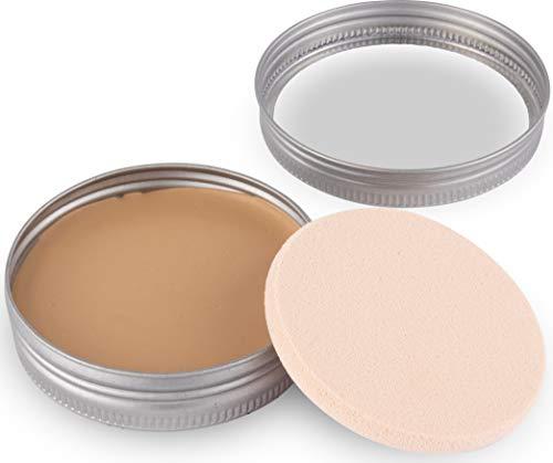 GREENDOOR Makeup Balsam Anti Aging 25g - Farbe: 003 almond, pflegender CC Balsam, Kompakt Make-up...