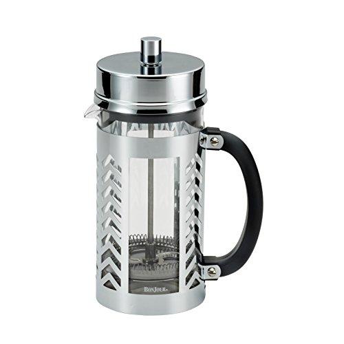 BonJour Coffee French Press, 33.8 oz, Glass