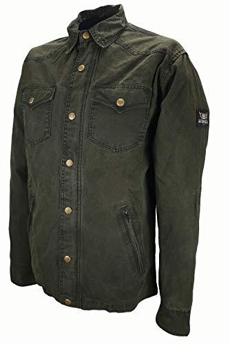 Bores Lumberjack, chaquetas de camisa, Dupont TM Kevlar, resistente a rasguños, impermeable, gris Negro, cuadriculado, 7x l/8x l