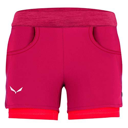 Salewa Agner Durastretch Un Pantalon, Rose Red, 152 Cm Unisexe-Adulte