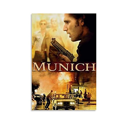 GTYQ Munich Movie Poster Decorative Painting Canvas Wall Art Living Room Posters Bedroom Painting 08x12inch(20x30cm)