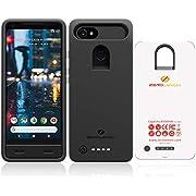 Google Pixel 2 XL Battery Case, ZeroLemon Ultra Power 8500mAh Extended Battery Case for Google Pixel 2 XL (NOT for Google Pixel 2)- Black
