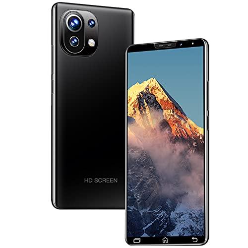 GELEI 4G Smartphone Libre, Pantalla Ultra Smooth De 5,5', Batería Masiva De 4800Mah, Cámara con 32MP+16MP Y Modo Nocturno, Dual Sim, NFC, 4+64GB,Negro