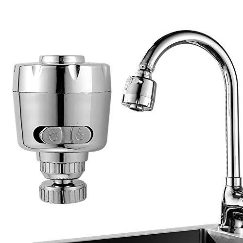 Waterfilter kraansproeier anti-splash waterfilter adapter douchekop bubbler Saver draaizwenker tippen huishouden badkamer voor keukenhulp
