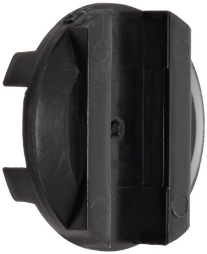 Ruland OD16/25-AT Oldham Coupling Disk, Black Acetal, Bore, 1