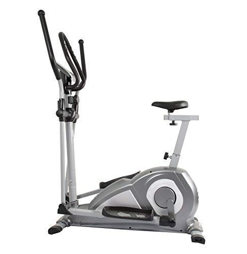 WELCARE Elliptical Cross Trainer WC6020 with seat, Hand Pulse...