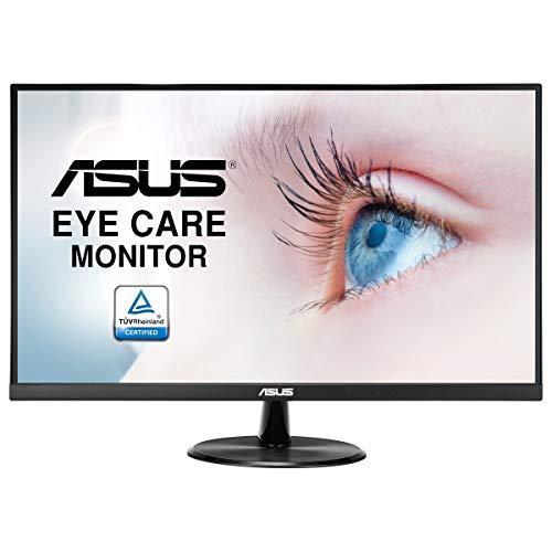ASUS VP279HE Monitor Eye Care ASUS VP279HE: 27 Pulgadas, FHD (Full HD 1920 x 1080), IPS, Sin Marco, 75 Hz, Adaptive-Sync/FreeSync, HDMI, Luz Azul de Baja Intensidad, Antiparpadeo