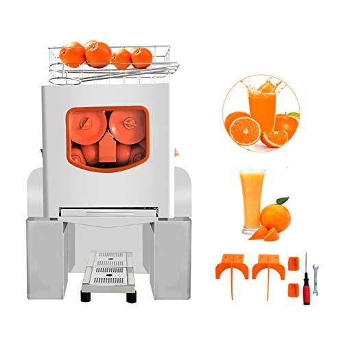 Ankishi Commercial Orange Juicer Machine, Professional Automatic Citrus Juicer Electric Juice Squeezer Cold Press Juicer with Bins, lemon juicer, orange juicer, 25-30 oranges per minute
