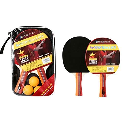 Cegduyi Hey Caterpillar - Juego de tenis de mesa profesional para 2...