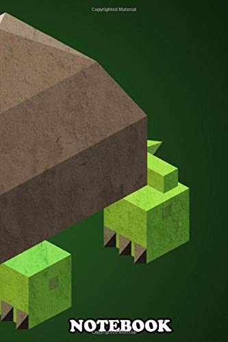 Notebook: 3d Rendering Of A Cute Low Poly Turtle Perfect For Eve , Journal for Writing, College Ruled Size 6  x 9 , 110 Pages