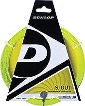 Dunlop Unisex S-Gut Armeggio 12.2 Metri , Calibro 1.30 Giallo ,Green