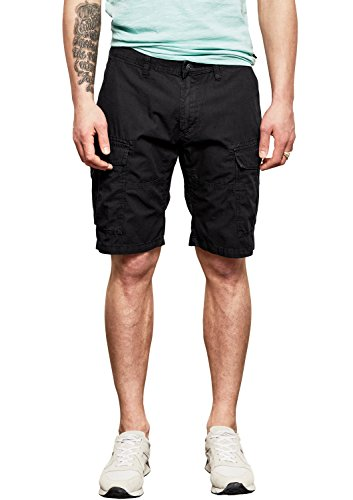 Q/S designed by - s.Oliver Herren 47.804.74.4758 Shorts, Grau (Black Grey 9897), W32