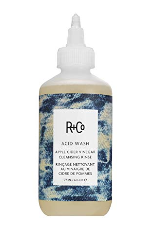 R+Co Acid Wash Apple Cider Vinegar Cleansing Rinse, Scalp Calming Hair Cleanser for Soft and Shiny Hair, 6 Fl Oz