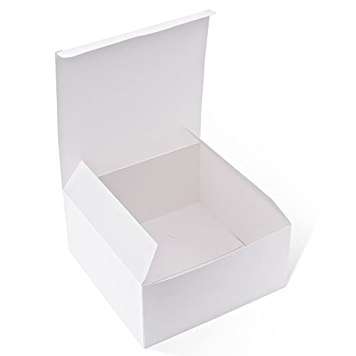 fa6925678c1e4 MESHA Gift Boxes 10Pack 8 x 8 x 4 Inches,Paper Gift Boxes with Lids
