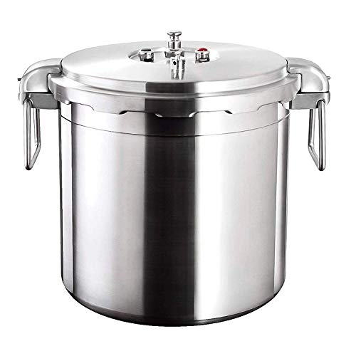 Buffalo Clad Quick Pot Stainless Steel Commercial Pressure Cooker Canner 35L