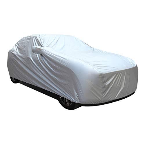 Irypulse Telo Copriauto 190T Impermeabile Universal Antipolvere Antivento Copertura per SUV Anti UV Resistente al graffio per All'aperto con Borsa di Stoccaggio-L