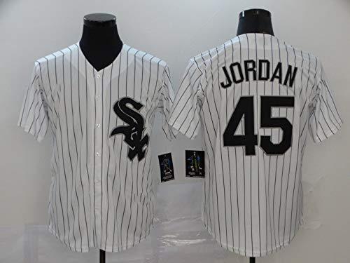 Camiseta de béisbol para Hombre, Medias Blancas # 10 MONCADA # 7# 74# 45 Aficionados y Aficionados Uniformes de béisbol, Camisetas, Uniformes de Juego, Camisetas Deportivas