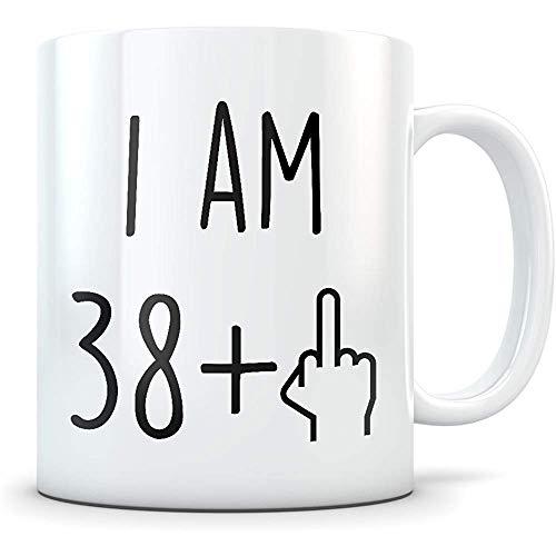 Divertido 39.o regalo de cumpleaños, 39.a taza de cumpleaños, regalos de cumpleaños de 39 años, feliz 39.o cumpleaños