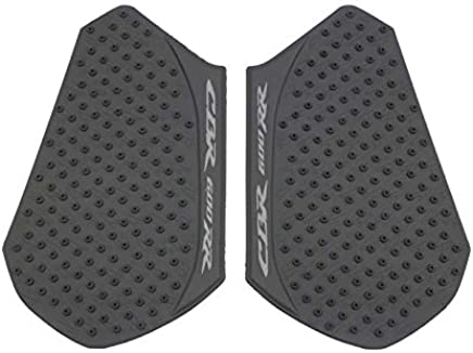 FATExpress Motorcycle 3M Adhesive Rubber Traction Pad Side Fuel Gas Tank Grip Decal Protector for 2013-2016 Honda CBR600RR CBR 600 RR 600RR Repsol 13-16 2014 2015
