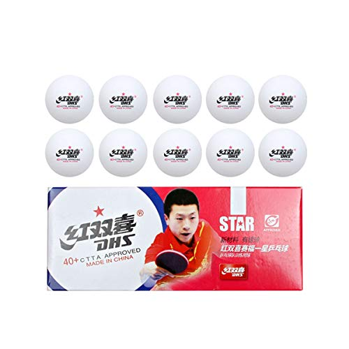 Xiaoningmeng Tischtennis, EIN Stern, Zwei Sterne, DREI Sterne, Spielball, Tischtennisball, Ball, Gelb, Weiß (Style : C)