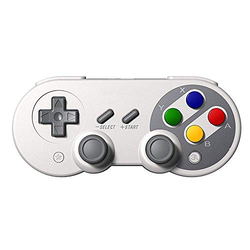 ZQY Drahtlose Bluetooth-Controller Gamepad Dual-Joystick-Klassiker for Windows Mac OS Android Linux Raspberry Pi Dampf und andere Kompatibel mit Nintendo-Switch (Color : A)
