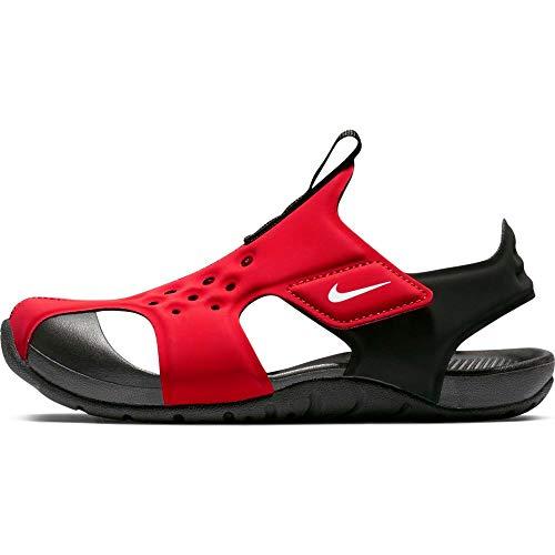 Nike Jungen Sunray Protect 2 (ps) Dusch- & Badeschuhe, Mehrfarbig (University Red/White/Black 601), 31 EU