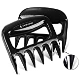 Gribacue Meat Claws, Pulled Pork Shredder Meat Paws, Easily Lift Handle Shred and Cut Turkey Beef Chicken, Essential for BBQ , Fully Solid Heat Resistant BPA Free Meat Forks, 2021 Best Kitchen Gadgets