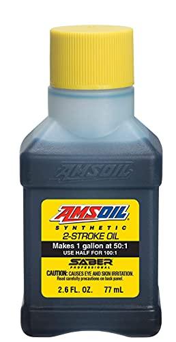 AMSOIL Saber Professional Synthetic 2-Stroke Oil 1 qt (32...