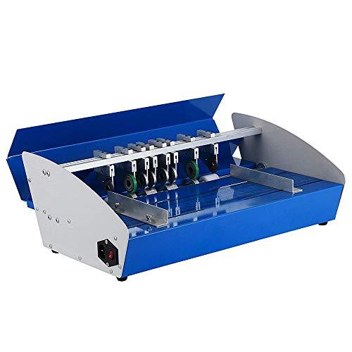 pequeño y compacto Plegadora eléctrica PLEASUR Marcador de papel eléctrico de 18 pulgadas y 460 mm 3 en 1 de alto rendimiento …