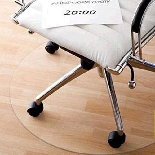WLF-didian Bürostuhlkissen, Kratz- und wasserabweisend, PVC-transparente Haushaltsbodenschutzkissen, 11 Größen, 2 Stärken,2mm,80 * 50cm