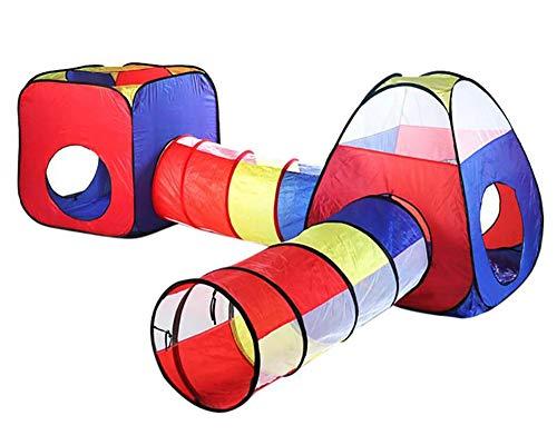 4 stks Baby Kruip Tunnel Tent Huis Kinderen Indoor Outdoor Spelen Wave Oceaan Ballenbad Pit Speelgoed Opvouwbare Kinderen Spelen Tenten Game House