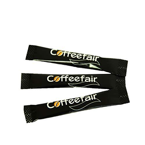 Coffeefair Portions-Zucker Zuckersticks in schlichtem Design, weißer Feinzucker, 1000 x 4g