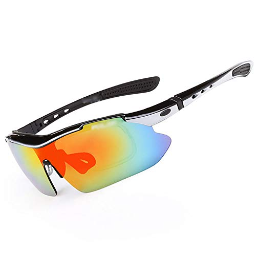 Cycling Glasses,UV Protection/Wind Protection/Shading/Impact Protection Polarized Goggles Outdoor Sports Mountain Bike Riding Mirror Unisex 10