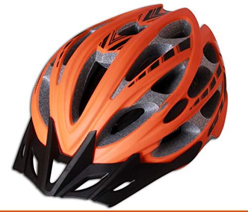 BOC Czz Fahrradhelm, Männer Und Frauen Fahrrad Berg Rennrad Sicherheit Hut,E,Helm