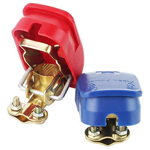 YGL 1 par Conectores de Liberación Rápida de la Batería Terminales de Batería Abrazaderas para Barco/Camión/Coche