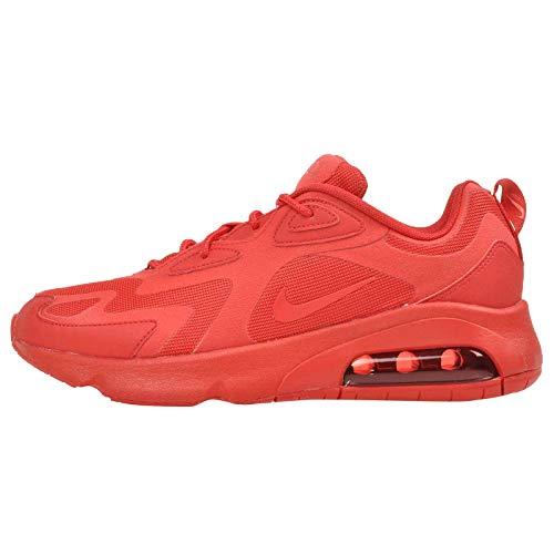 Nike Air Max 200 - Camiseta para mujer, color rojo y rojo, color Rojo, talla 40.5 EU