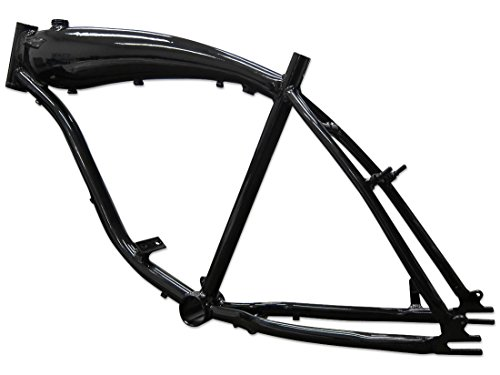 BBR Tuning 26 Inch Motorized Bicycle Frame w/ 3.75L Gas Tank- Black
