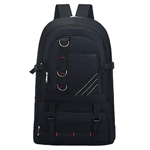 50 Liters Large Multifunctional Tactical Backpack Oxford Cloth Waterproof Suitable For Hiking Camping Climbing Fishing School C