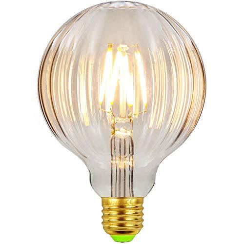 LED-Lampen Vintage Glühbirne Globe Crystal 4W 220 / 240V E27 Dekorative Glühbirne Warmweiß (G95 Watermelon Clear)