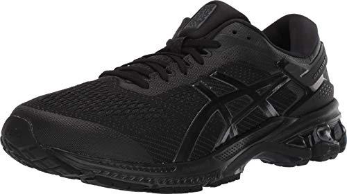 ASICS Men's Gel-Kayano 26 Running Shoes, 11.5M, Black/Black